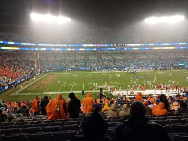 Bank of America Stadium, section: 318, row: 14, seat: 14