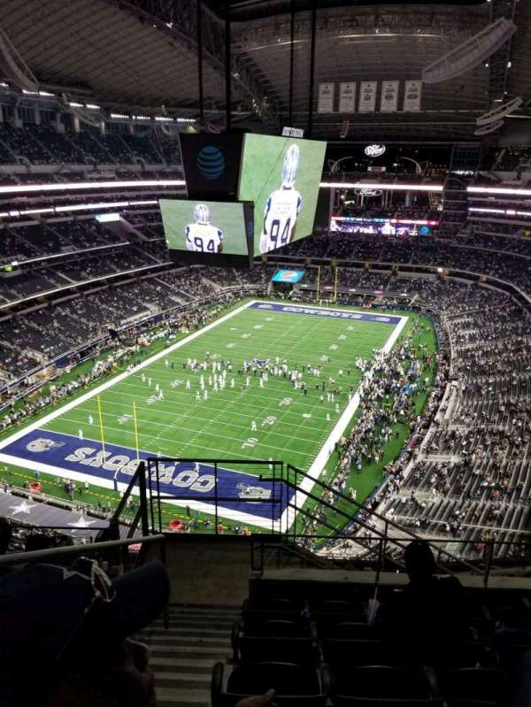 AT&T Stadium, section: 423, row: 14, seat: 20