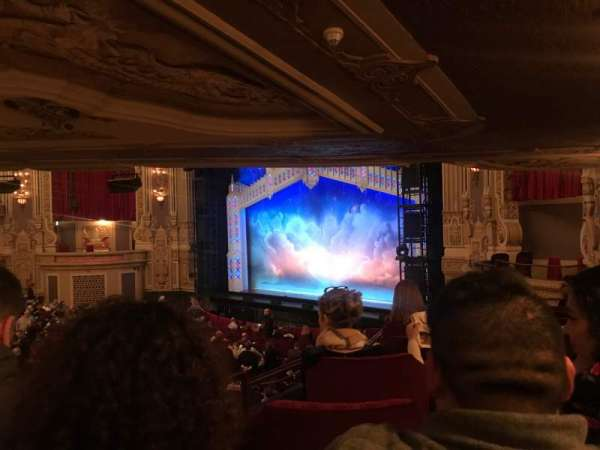 Nederlander Theatre (Chicago), section: Dress Circle R, row: Hh, seat: 10
