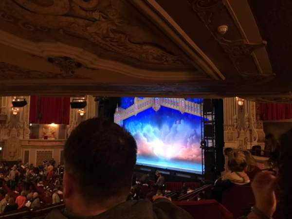 Nederlander Theatre (Chicago), section: Dress Circle R, row: HH, seat: 08