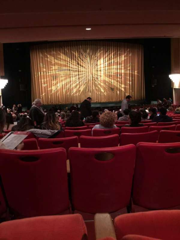 Dorothy Chandler Pavilion, section: Orchestra, row: ZZ, seat: 23