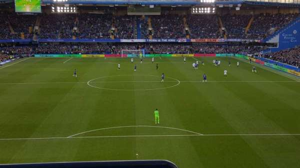 Stamford Bridge, section: Matthew Harding Upper 12, row: G, seat: 81