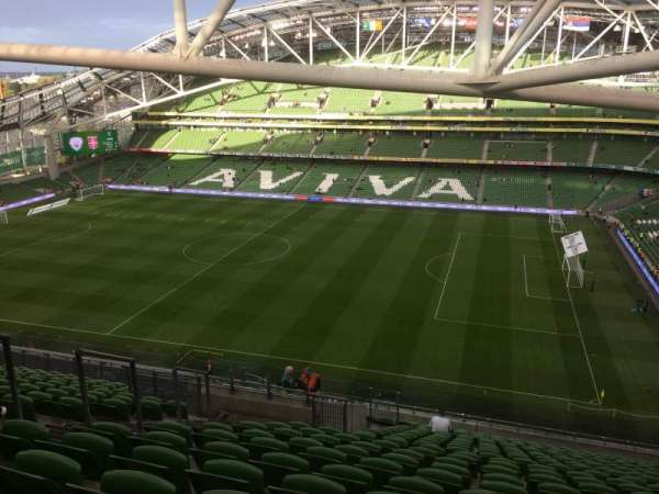 Aviva Stadium, section: 523, row: X, seat: 8