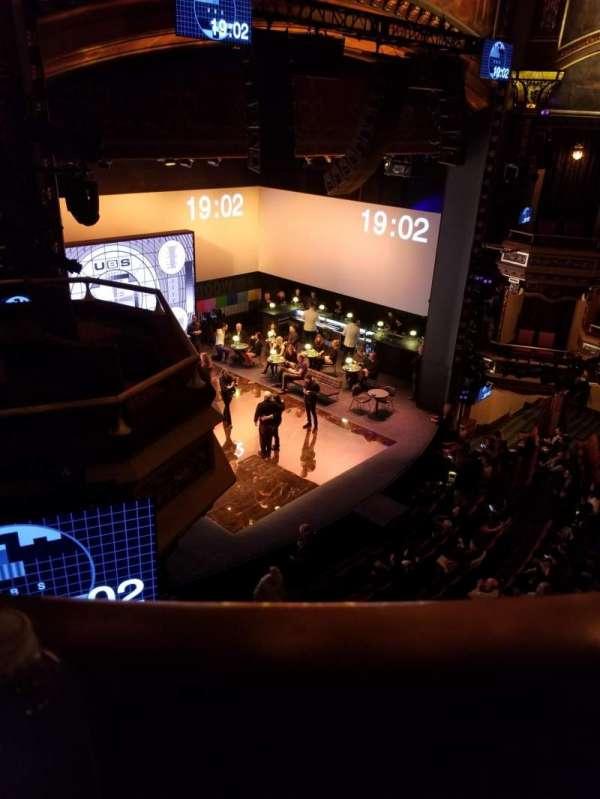 Belasco Theatre, section: Balcony, row: a, seat: 23