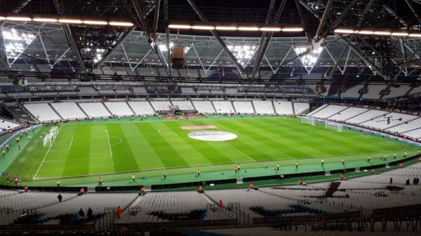 London stadium, section: 233, row: 65, seat: 318