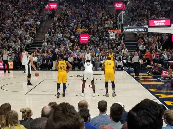 Vivint Smart Home Arena, section: 17, row: 4, seat: 7