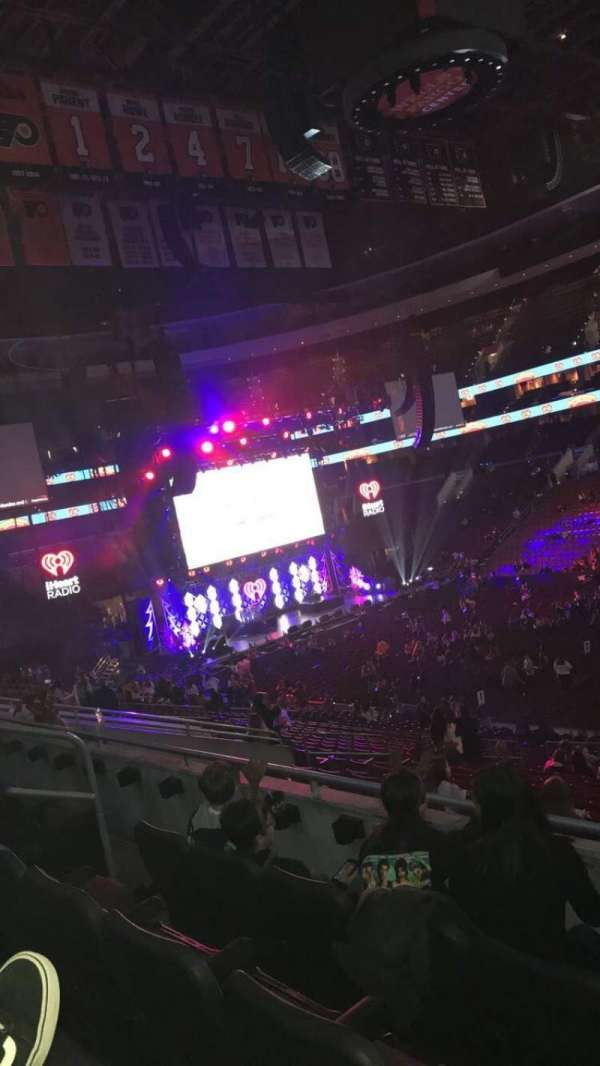 Wells Fargo Center, section: CB12, row: 3, seat: 14