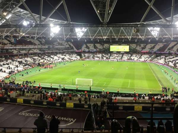 London Stadium, section: 224, row: 53, seat: 812