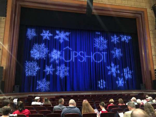 Walt Disney Theatre - Dr. Phillips Center, section: Orchestra, row: K, seat: 105
