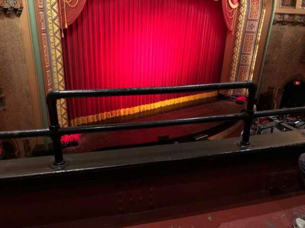 Florida Theatre, section: L400, row: B, seat: 1