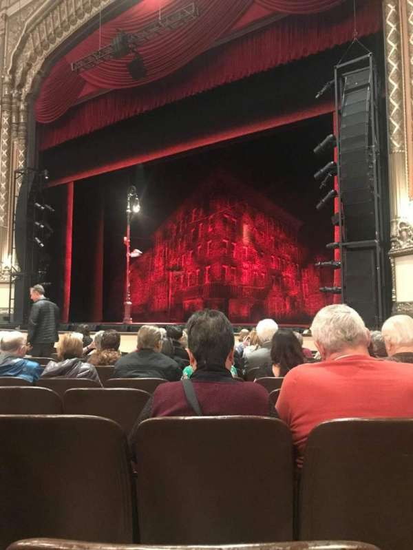 Golden Gate Theatre, section: Orchestra, row: K, seat: 24