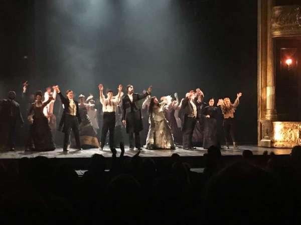 Majestic Theatre - San Antonio, section: ORCLFT, row: P, seat: 115
