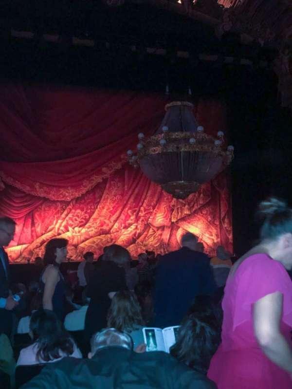 Majestic Theatre - San Antonio, section: OrchLeft, row: P, seat: 115