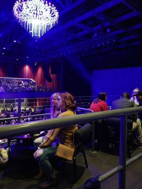 Coca-Cola Roxy, section: AA, row: 200, seat: 19