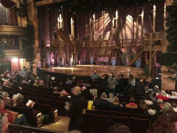 Richard Rodgers Theatre, section: Orch, row: N, seat: 12