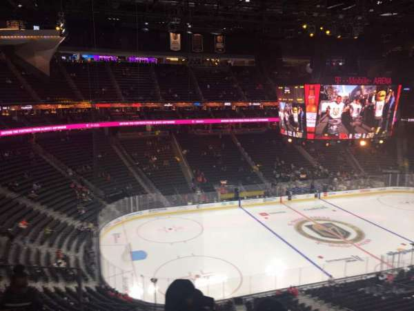 T-Mobile Arena, section: 220, row: d, seat: 3