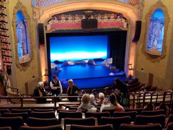 Balboa Theatre, section: Balcony2, row: P, seat: 9
