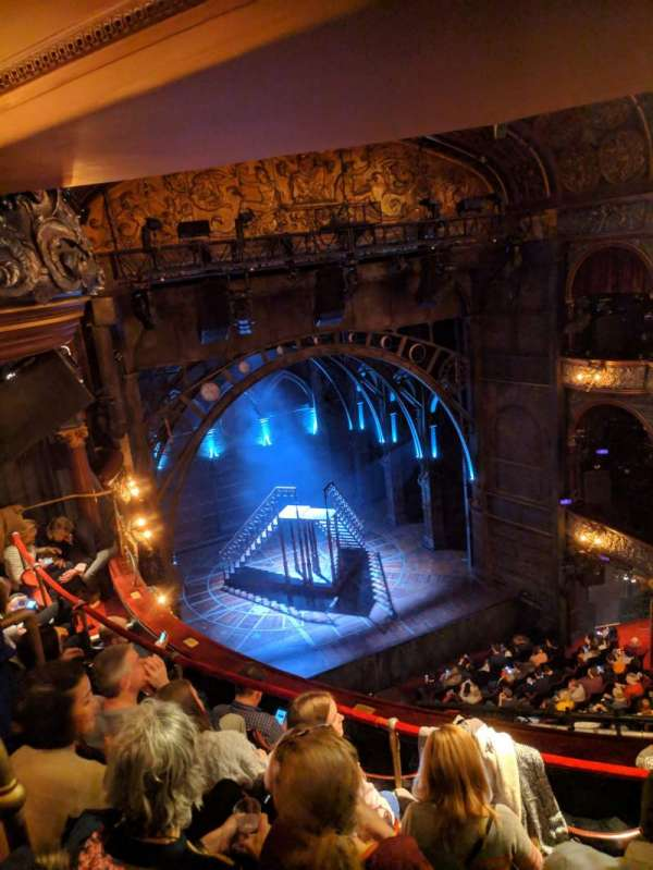 Palace Theatre (West End), section: Grand Circle, row: E, seat: 35
