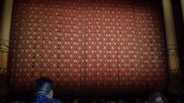 Academy of Music, section: Parquet Center, row: H, seat: 111