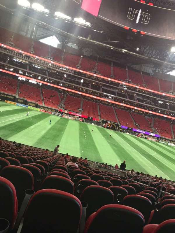 Mercedes-Benz Stadium, section: C110, row: 24, seat: 13