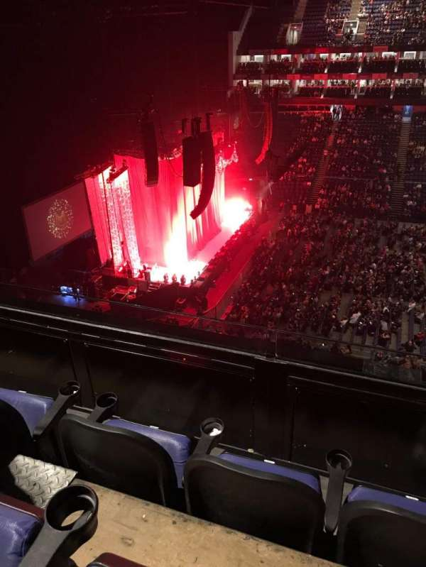 The O2 Arena, section: 403, row: C, seat: 501