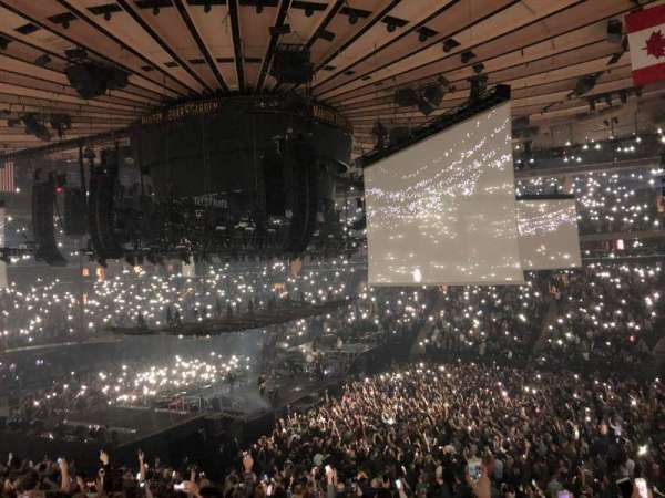 Madison Square Garden, section: 119, row: 22, seat: 12