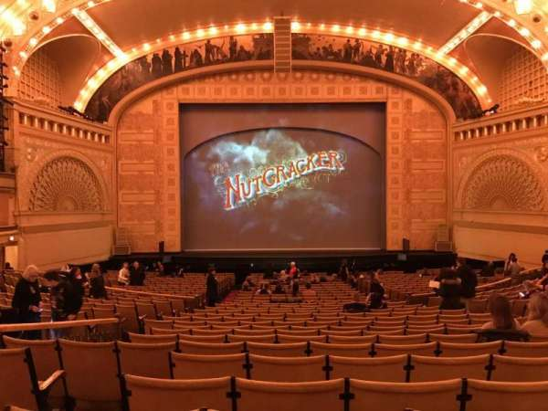 Auditorium Theatre, section: Dress Circle - Center, row: EE, seat: 307