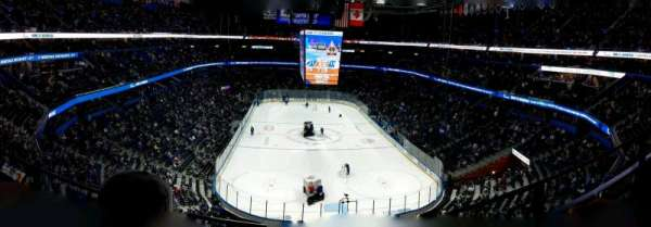Amalie Arena, section: 309, row: B, seat: 10