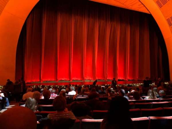 Radio City Music Hall, section: Orchestra 5, row: RR, seat: 514