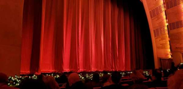 Radio City Music Hall, section: Orchestra 6, row: HH, seat: 608