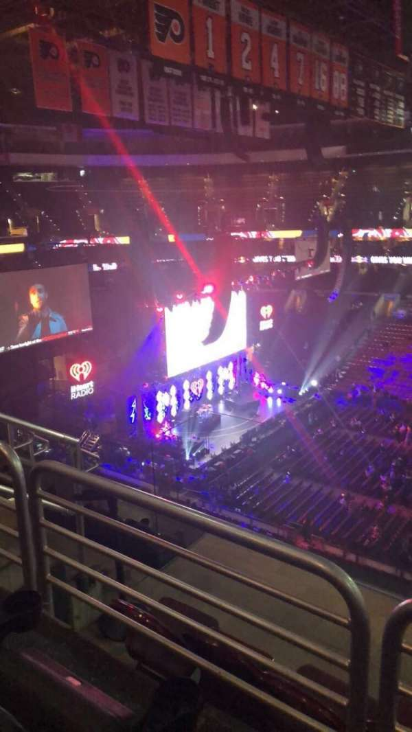 Wells Fargo Center, section: 202, row: 6, seat: 6