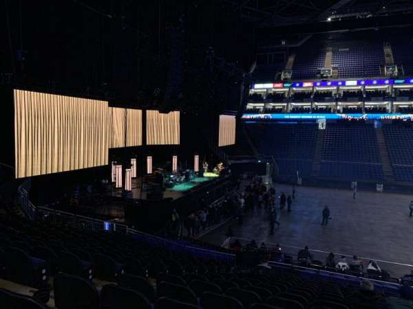 The O2 Arena, section: 101, row: X, seat: 34