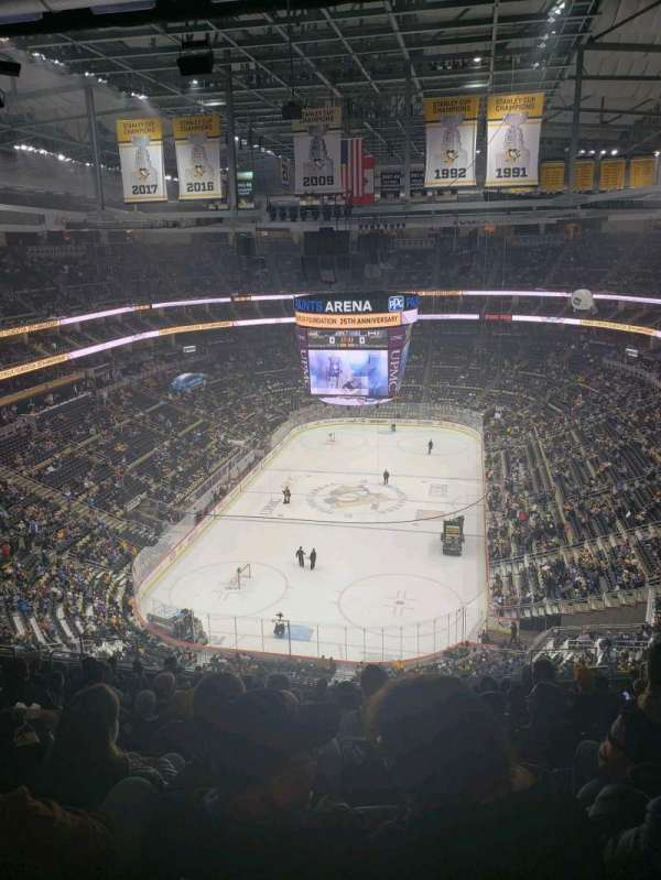 PPG Paints Arena, section: 227, row: p, seat: 9