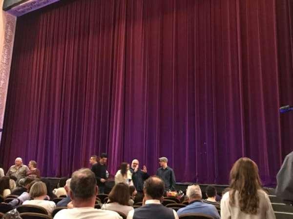 Paramount Theatre (Seattle), section: Main Floor 1, row: K, seat: 1