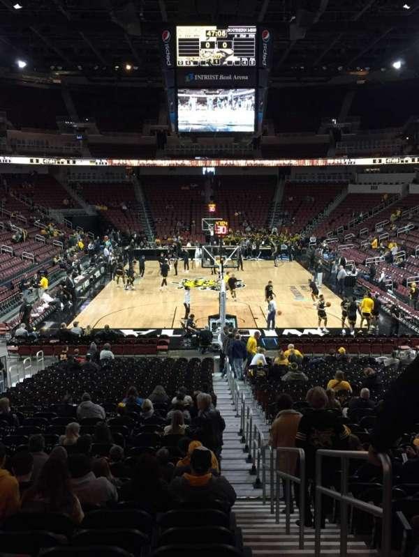 Intrust Bank Arena, section: 110, row: U, seat: 1
