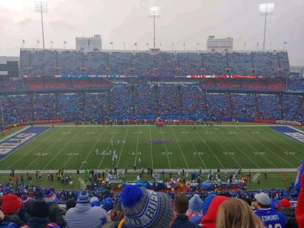 New Era Field, section: 312, row: 14, seat: 12