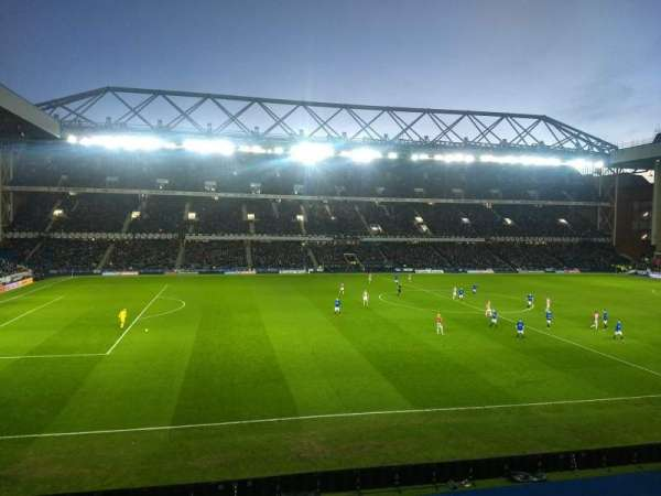 Ibrox Stadium, section: GLE Bar 72, row: A, seat: 168