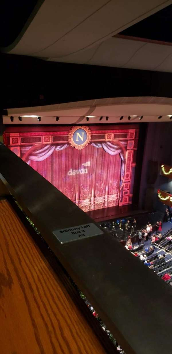 Thelma Gaylord Performing Arts Theatre, section: Balcony Left Box 3, row: A, seat: 3