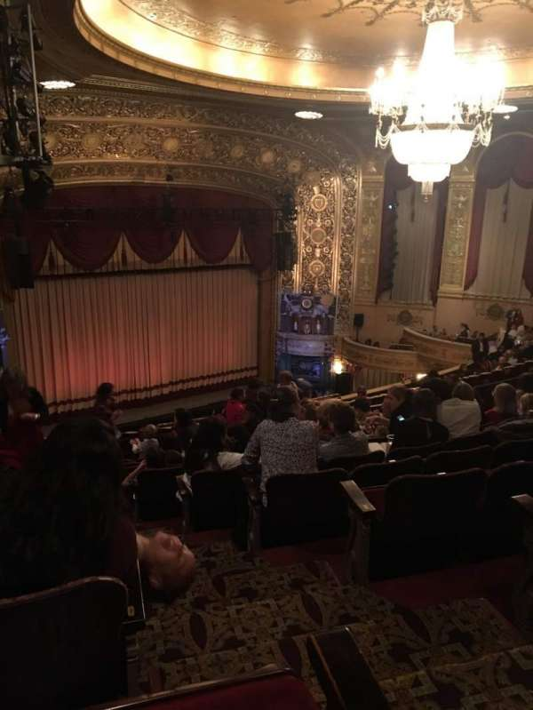 Warner Theatre (Washington, D.C.), section: MIDBAL, row: KK, seat: 25