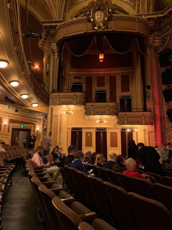 Hippodrome Theatre, section: Center orchestra, row: L, seat: 112