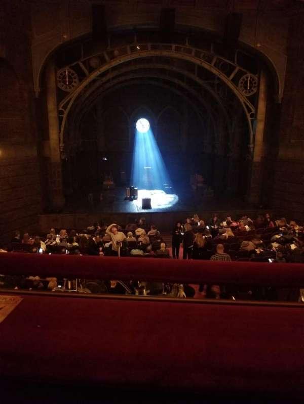 Lyric Theatre, section: Dress Circle Center, row: A, seat: 106