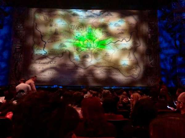 Hollywood Pantages Theatre, section: Orchestra C, row: J, seat: 107