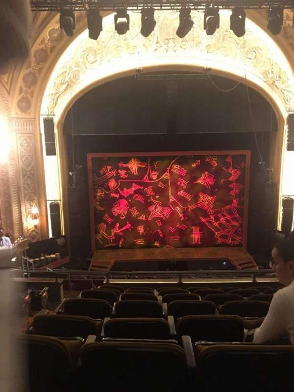 Paramount Theatre (Seattle), section: Mezzanine 13, row: F, seat: 2