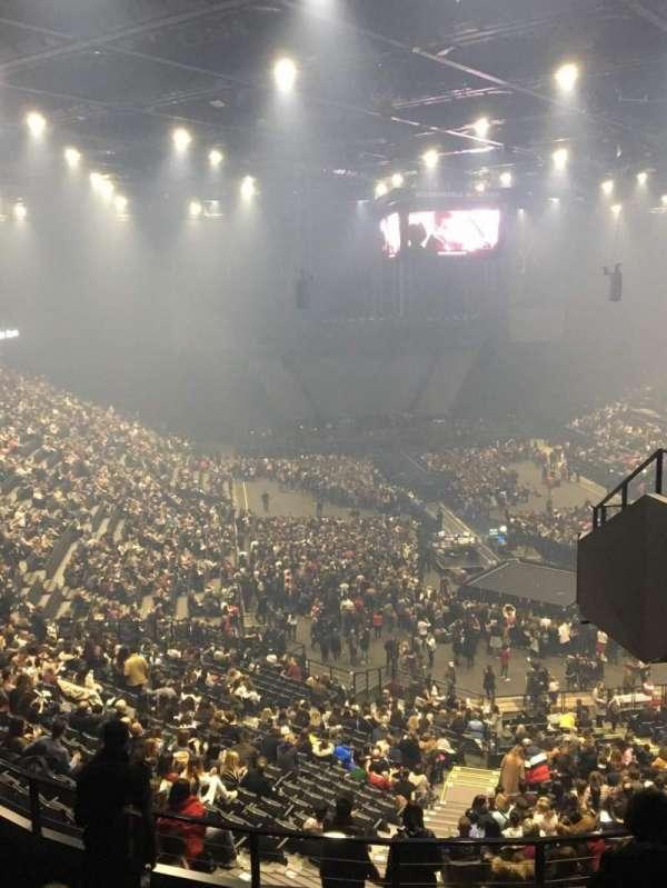 AccorHotels Arena, section: U, row: 87, seat: 7