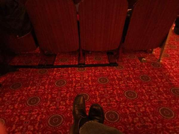 Lyric Theatre, section: Orchestra L, row: K, seat: 3