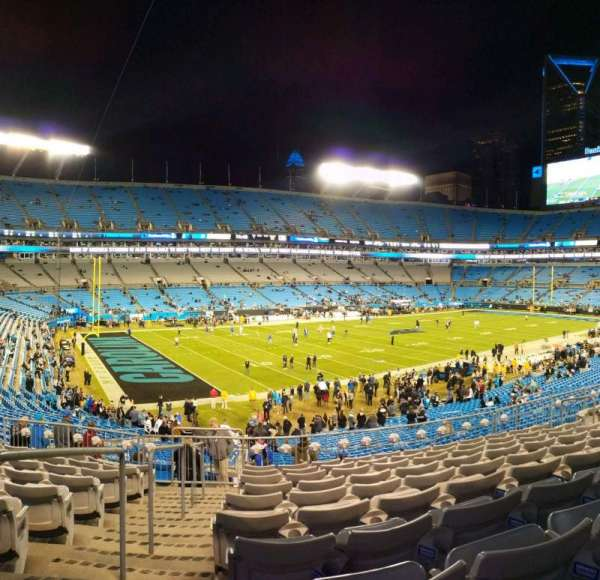 Bank of America Stadium, section: 349, row: 10, seat: 13