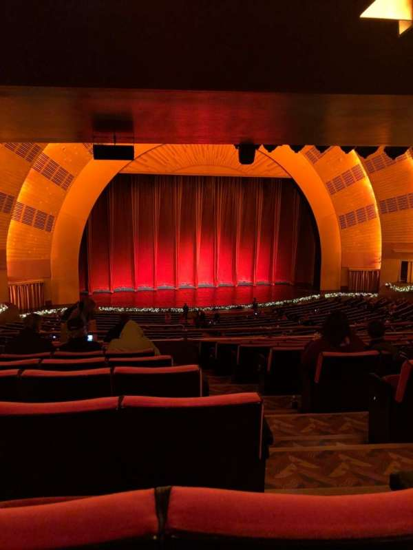 Radio City Music Hall, section: 1st Mezzanine 6, row: J, seat: 602