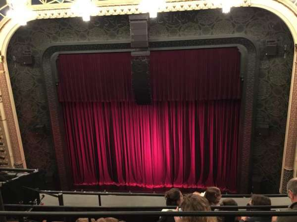 Mainstage at the New York City Center, section: Balcony, row: D, seat: 136