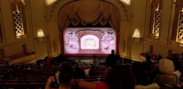 War Memorial Opera House, section: Dress Circle, row: H, seat: 114
