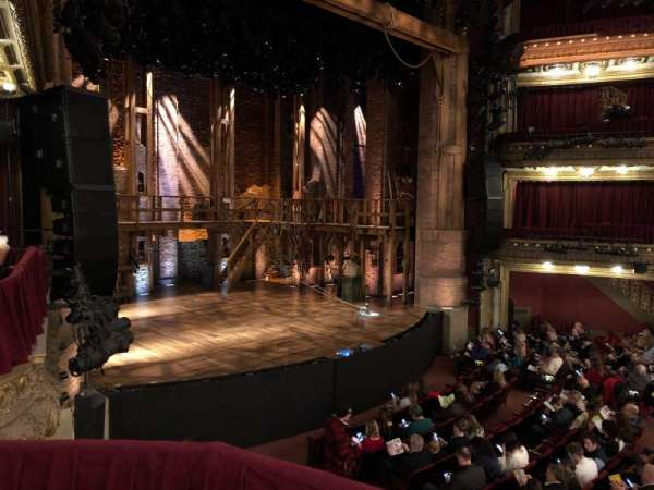 CIBC Theatre, section: Dress circle right, row: Box 1, seat: 211
